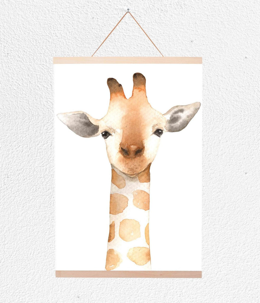 Curated Nest: Nurseries and Design - Giraffe Hanging Print - Art