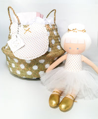 Gold Ballerina Princess Gift Set