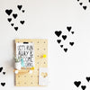 Curated Nest: Nurseries and Design - Hand Drawn Hearts Decals - decal