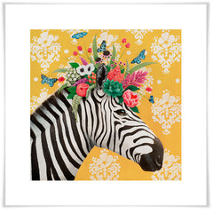 Haute House Zebra in Yellow