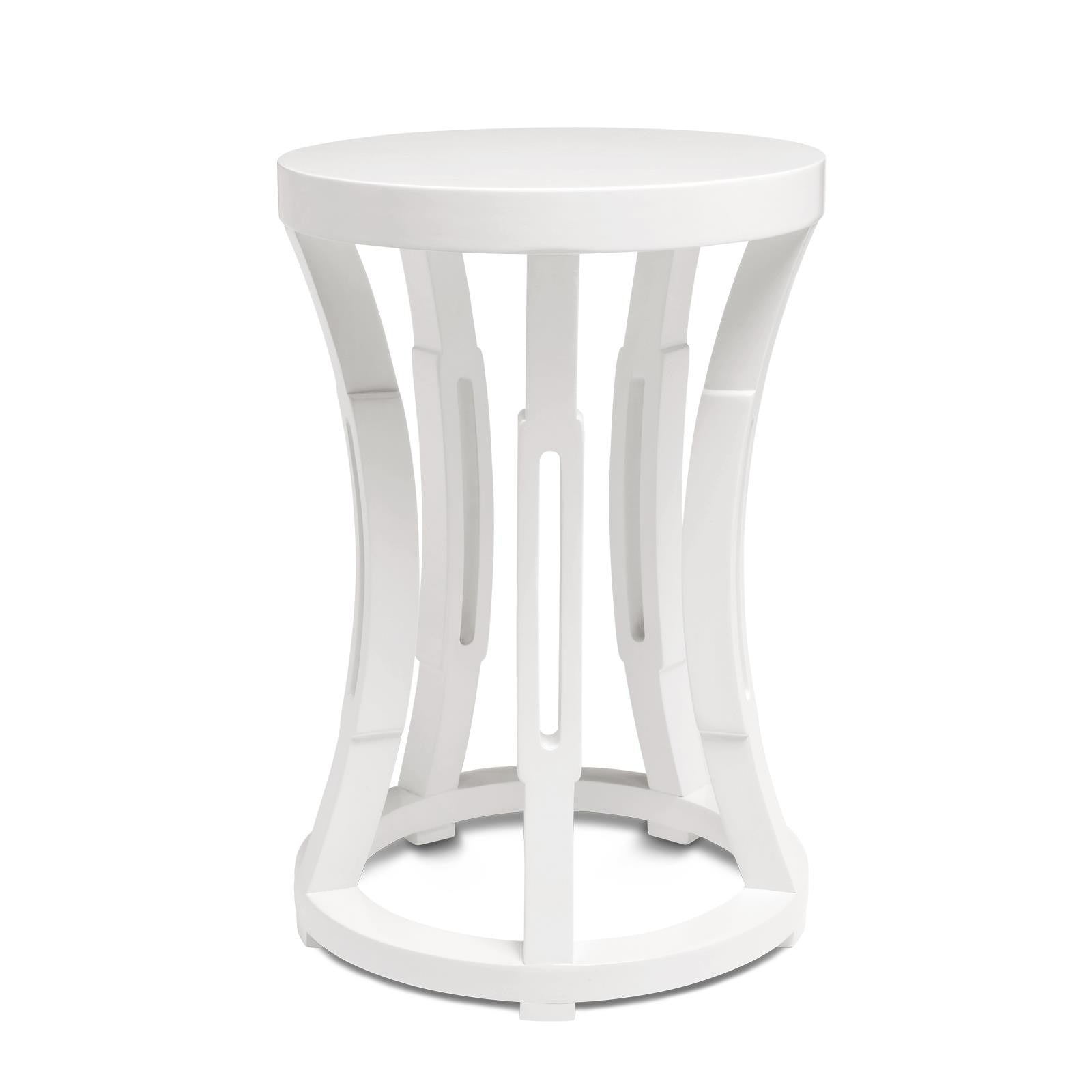 true table casual tables end ace furniture white p