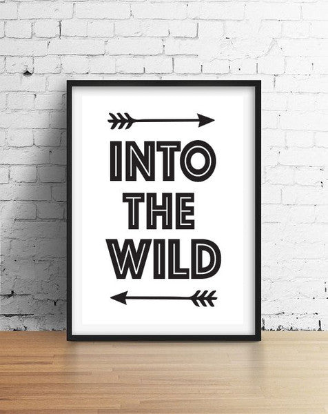 Curated Nest: Nurseries and Design - Into the Wild - Art Print - Art