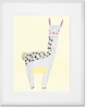 Curated Nest: Nurseries and Design - Lovely Llama - Art