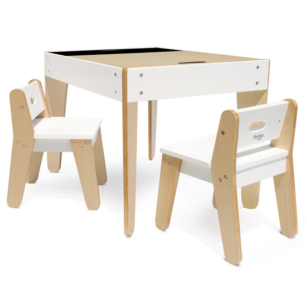 Curated Nest: Nurseries and Design - Little Modern Play Table and Chairs - Play table