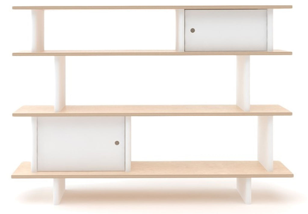Curated Nest: Nurseries and Design - Oeuf Low Mini Library Bookshelf - Bookshelf