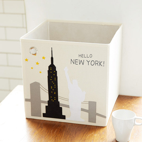 Canvas Storage Box - New York City