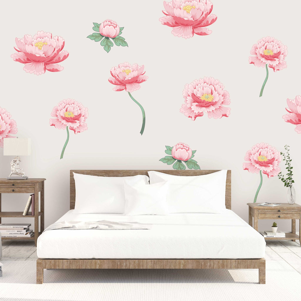 Curated Nest: Nurseries and Design - Leona Decals - wallpaper