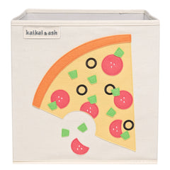 Canvas Storage Box - Pepperoni Pizza