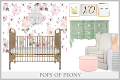 The Designer Nest in Pops of Peony