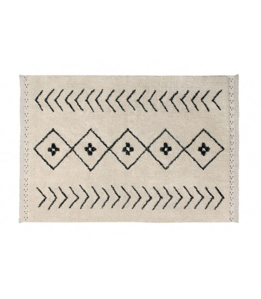 Washable Bereber Rhombs Rug