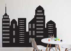 Chalkboard Skyscraper Decal