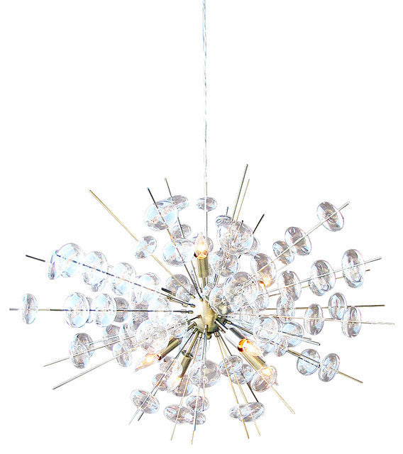 Glass Bubbles Ceiling Mount Light