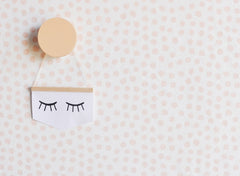 Stamped Dots Wallpaper