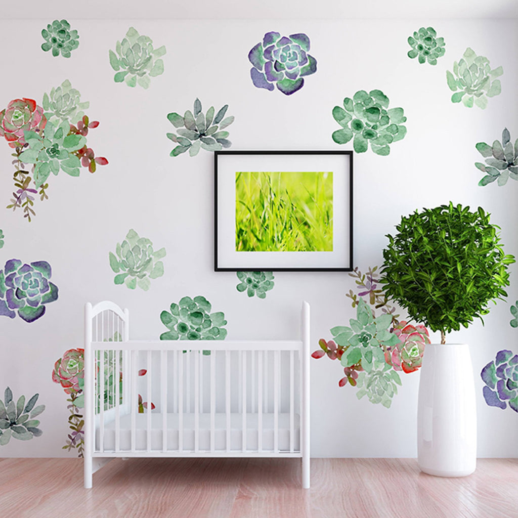 Curated Nest: Nurseries and Design - Fiona Decals - wallpaper