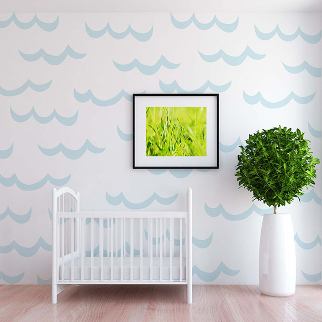 Curated Nest: Nurseries and Design - Noah Decals - wallpaper