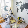 Curated Nest: Nurseries and Design - Chalkboard World Map Decal - Decal