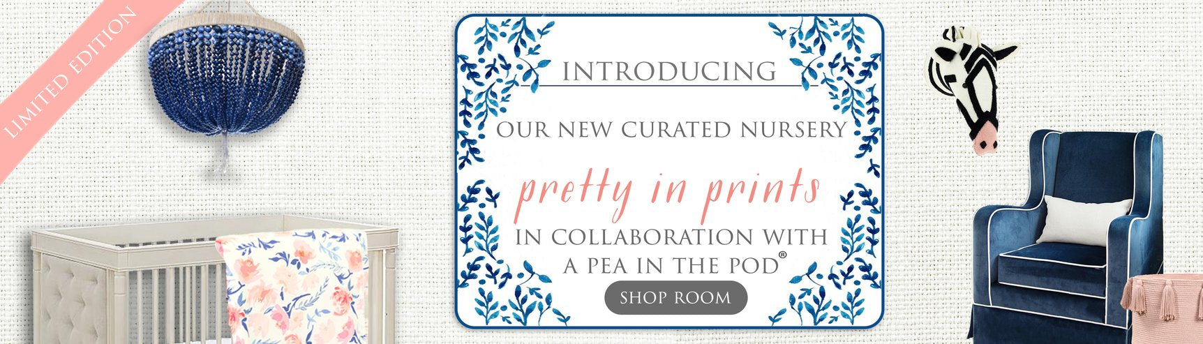 Curated Nest Limited Edition Curated Room - Pretty in Prints