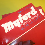 Myford Series 7 manual, Ian Bradley