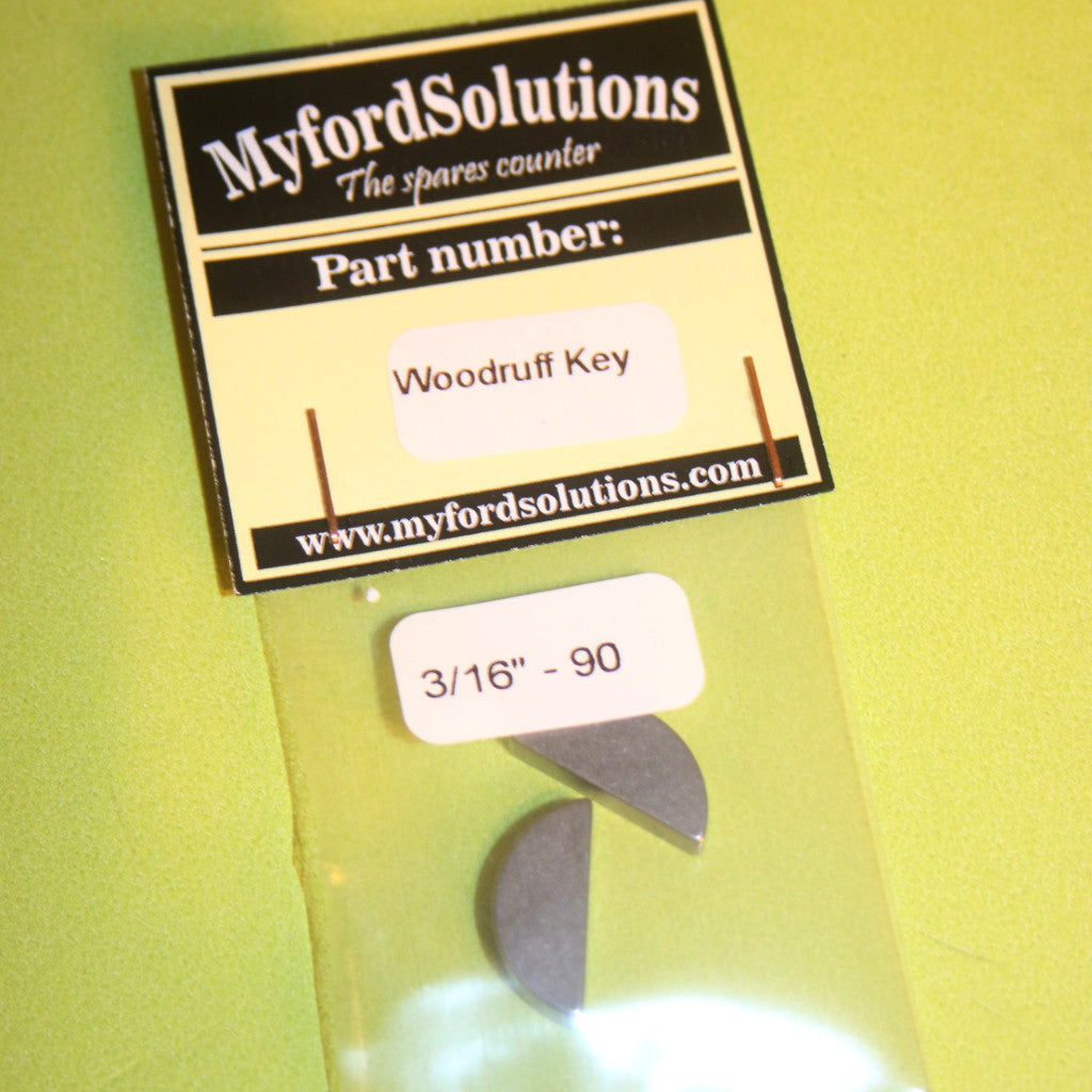 Myford ML7 Woodruff key 3/16""
