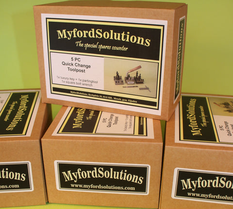 MyfordSolutions quick change toolpost / Dickson model