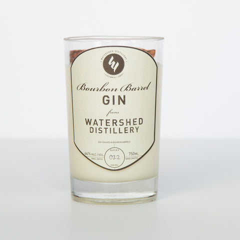 Watershed Bourbon Barrel Gin Candle