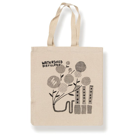 Watershed Distillery Tote Bag