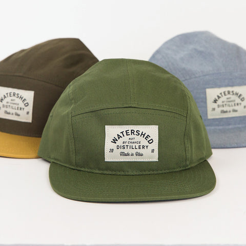 Watershed Sewn Label 5-Panel Hats
