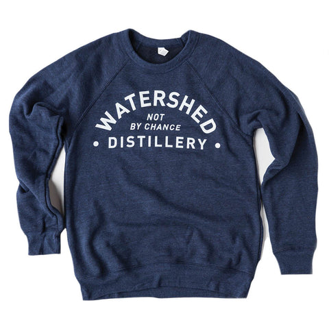 Navy Blue Crewneck Sweatshirt