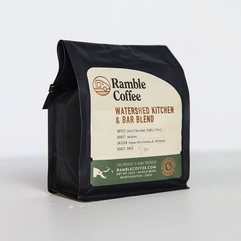 watershed kitchen bar ramble coffee blend - Watershed Kitchen