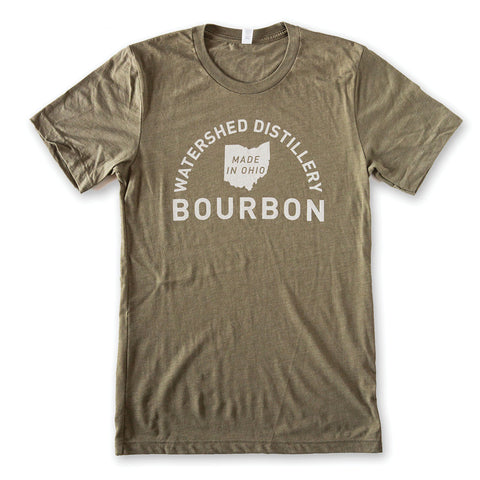 Watershed Distillery Green Bourbon T-Shirt