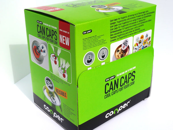 Canper Family Pack (different designs) for slim can with small opening and normal can - 50 pcs in box