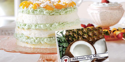 Ambrosia Dream Cake