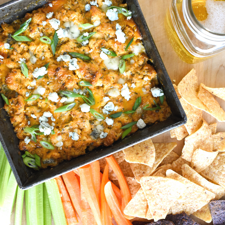 Hot Buffalo Cauliflower Dip