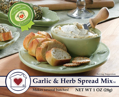 Garlic & Herb Spread Mix