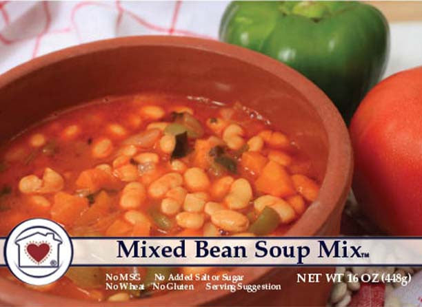 Mixed Bean Soup Mix