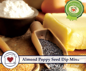Almond Poppy Seed Dip Mix (LIMITED EDITION)