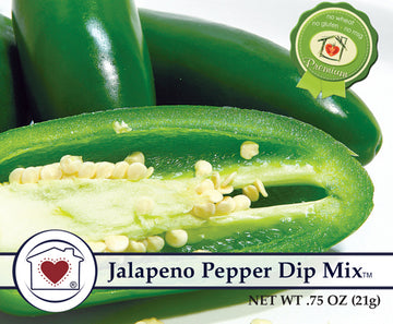 Jalapeno Pepper Dip Mix