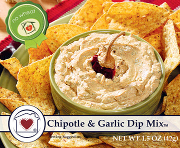 Chipotle & Garlic Dip Mix