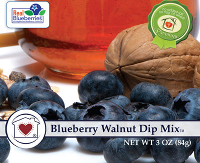 Blueberry Walnut Dip Mix