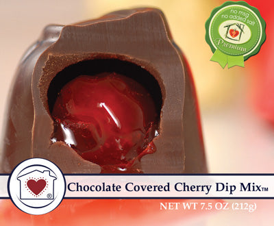 Chocolate Covered Cherry Dip Mix