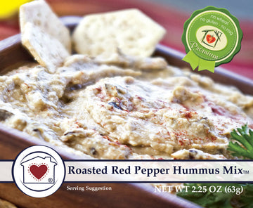 Roasted Red Pepper Hummus Mix