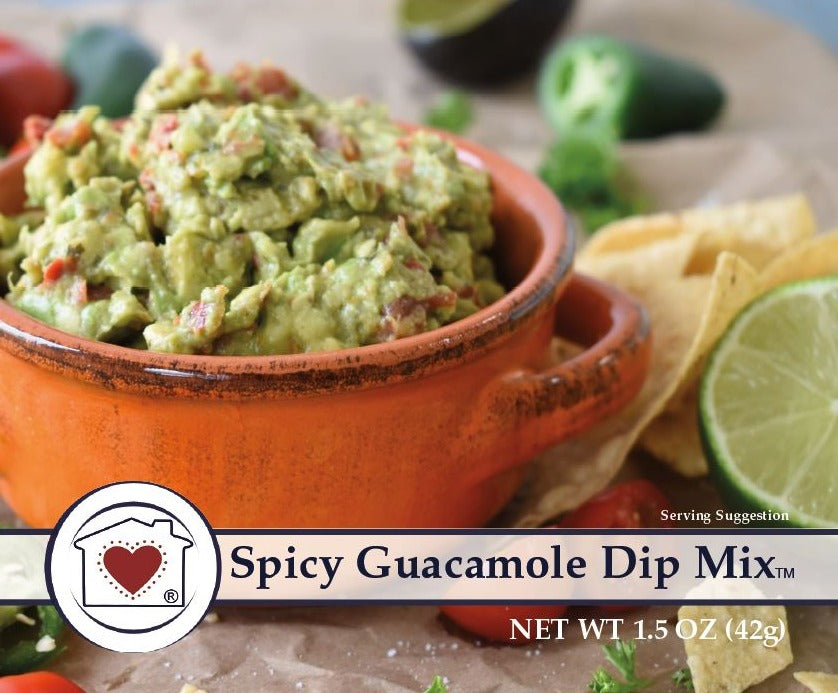 Spicy Guacamole Dip Mix *NEW*