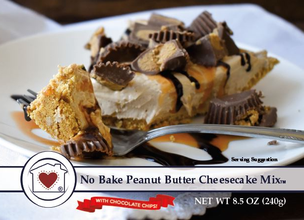 No-Bake Peanut Butter Cheesecake *NEW*