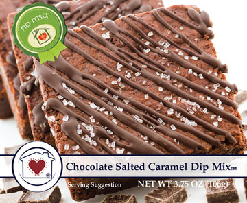 Chocolate Salted Caramel Dip Mix