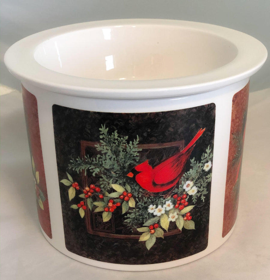 Christmas Cardinals Dip Chiller