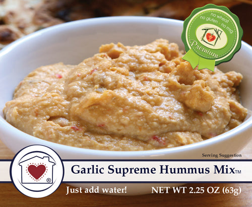 Garlic Supreme Hummus Mix