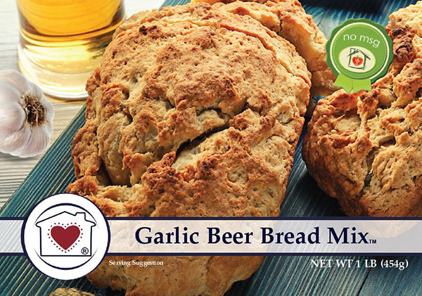 Garlic Beer Bread Mix