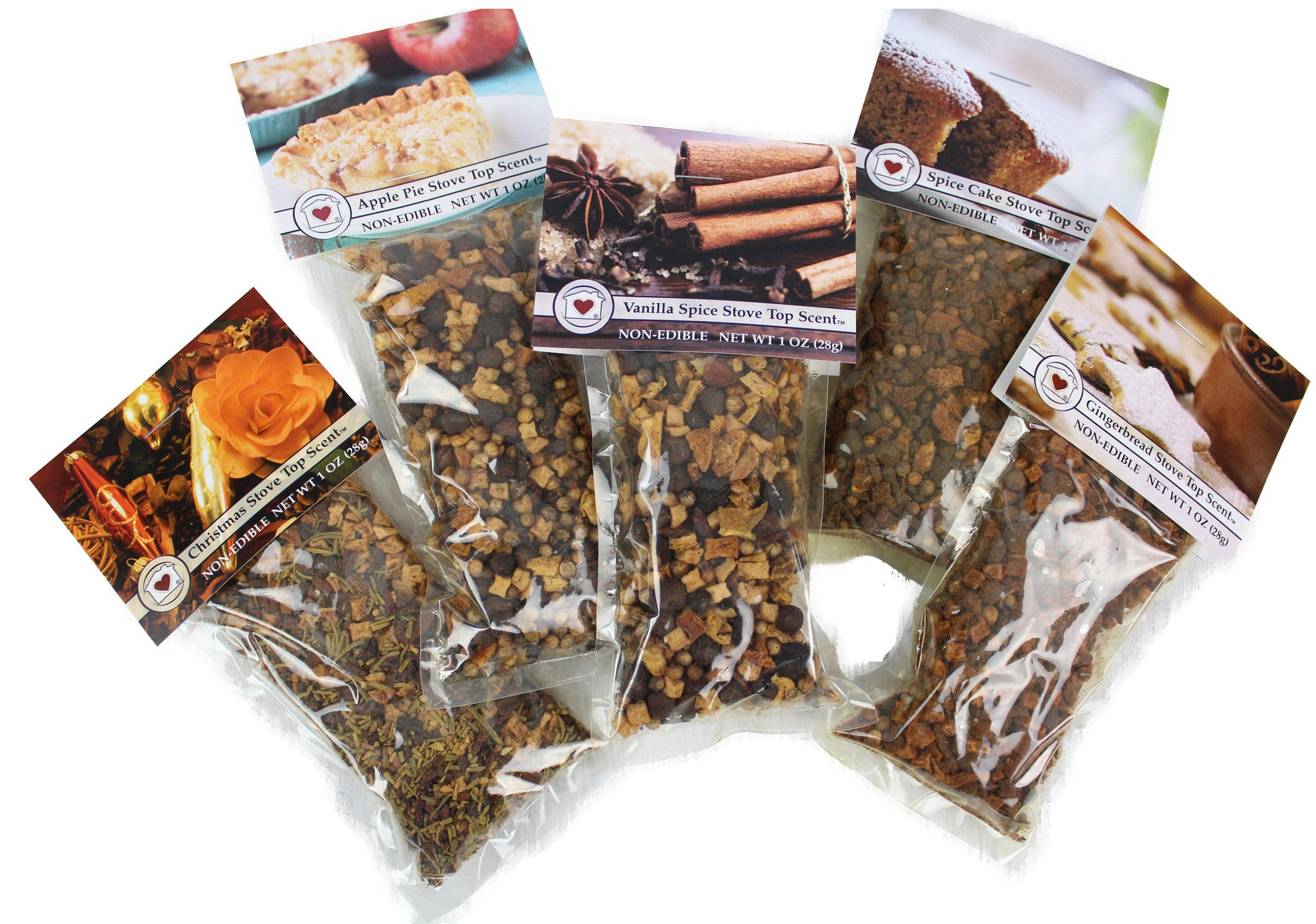 5 Scent Simmering Potpourri Pack Country Home Creations