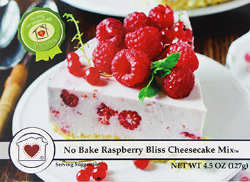 No-Bake Raspberry Bliss Cheesecake Mix **NEW**