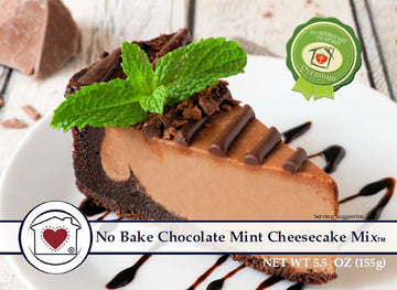 No-Bake Chocolate Mint Cheesecake Mix **NEW**
